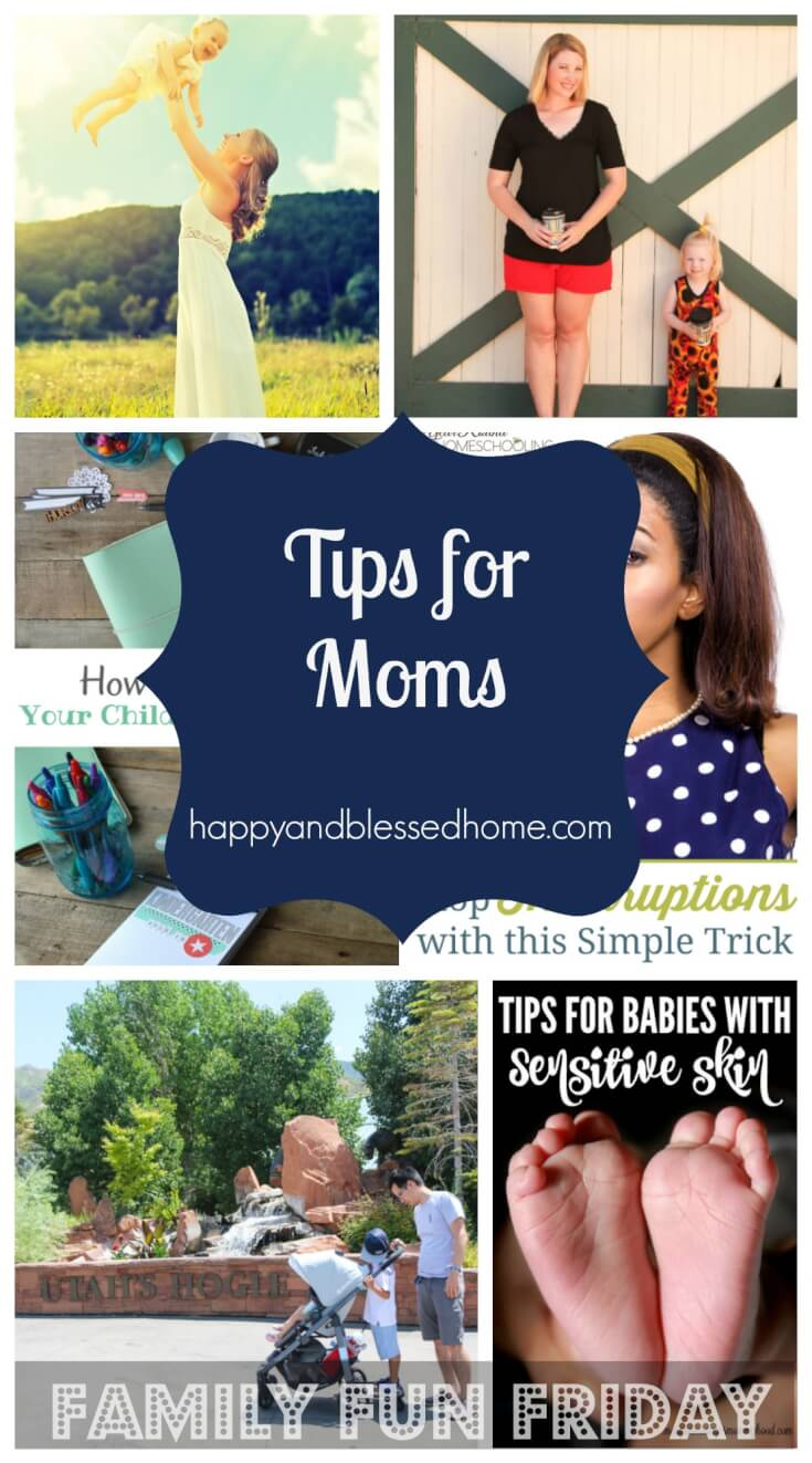 Tips for moms on family fun friday