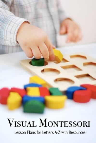 Visual Montessori Lesson Plan and Guidebook