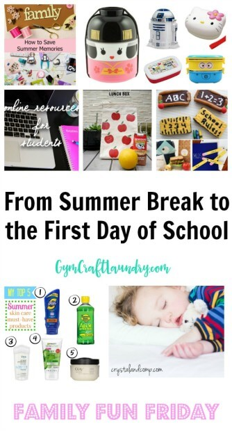 from summer break to back to school transition