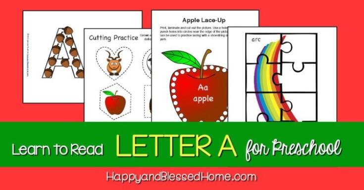 FREE Letter A Unit Study