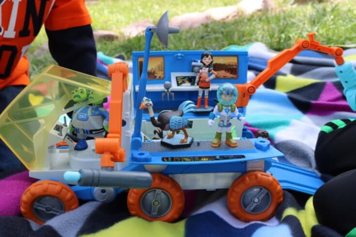 Outer Space fun with our new Miles from Tomorrowland Mission Rover