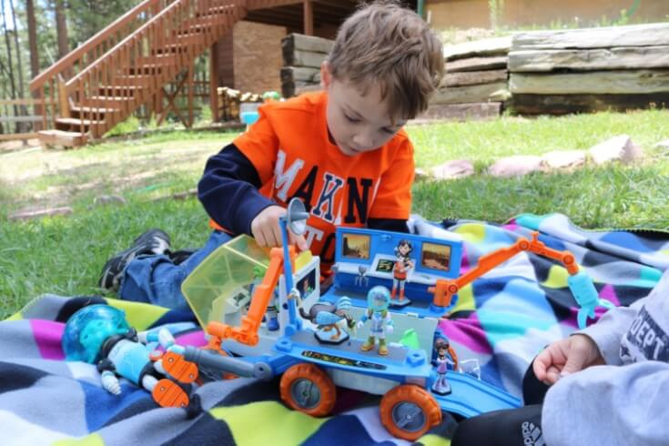 Get ready for space exploration with this Miles from Tomorrowland Mission Rover
