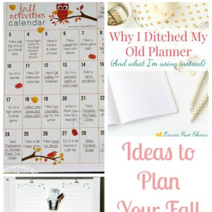 Ideas to Plan Your Fall and Family Fun Friday