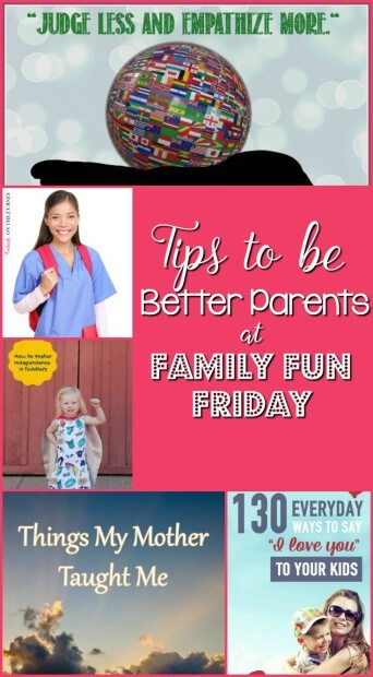 Tips to be better parents
