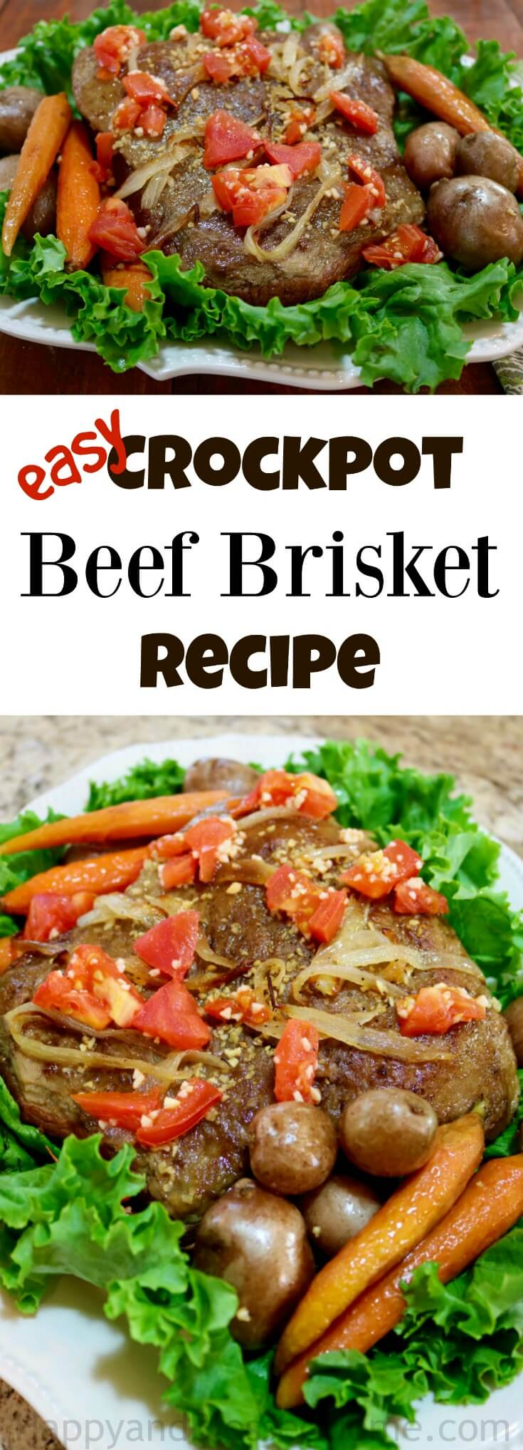 Easy Crockpot Beef Brisket Recipe you can make in your slow cooker