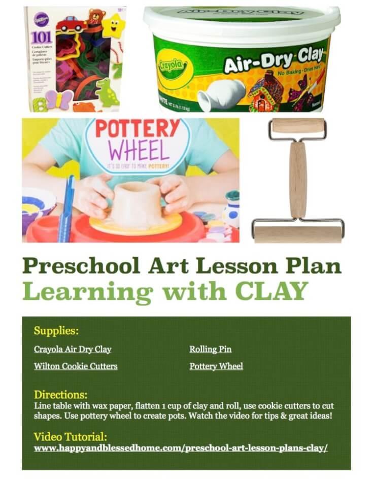 preschool-art-lesson-plans-clay