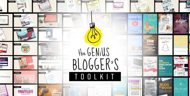 The Genius Blogger's Toolkit
