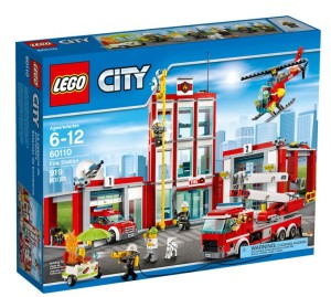 LEGO City Firetruck and Rescue Buildings