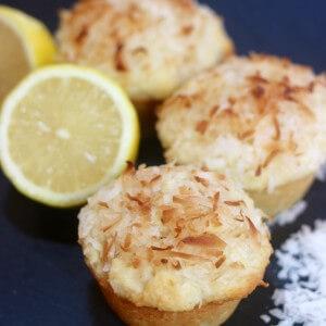 Easy Recipe: Lemon Coconut Muffins