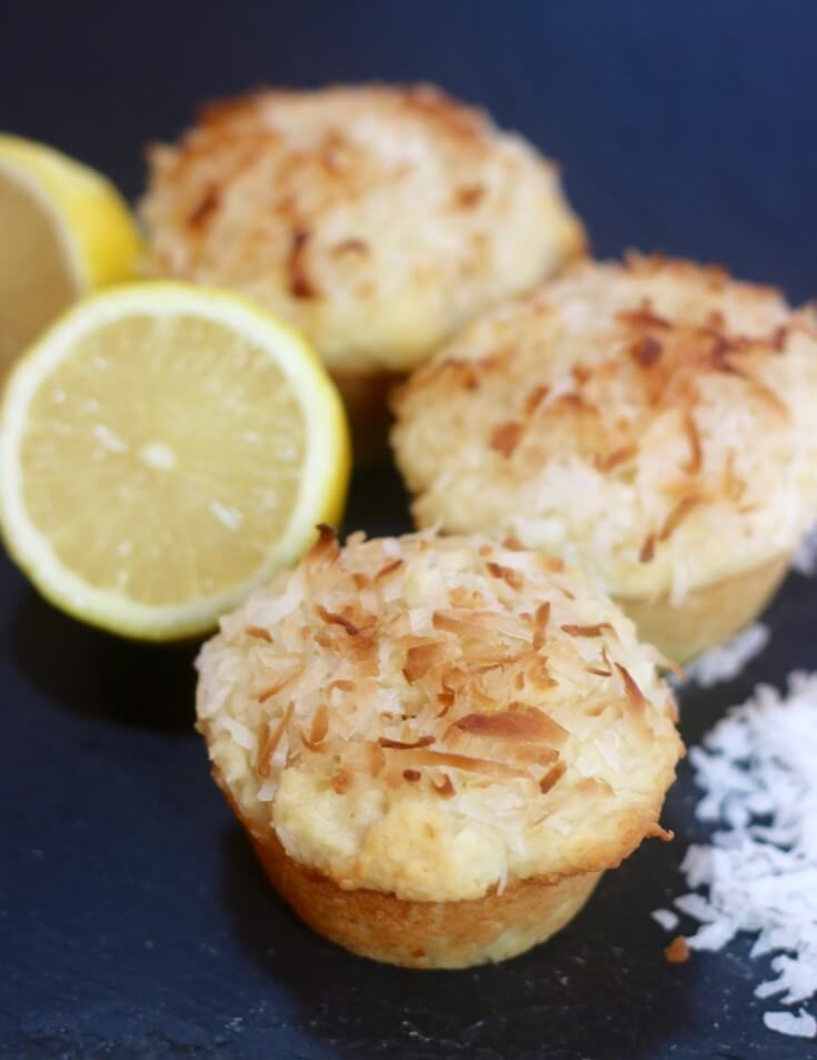 Easy Recipe for Lemon Coconut Muffins