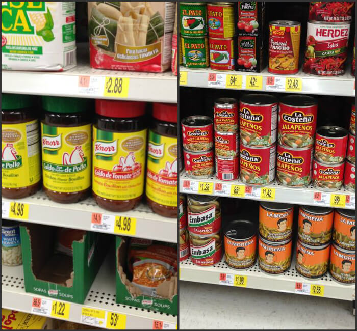 knorr-and-la-morena-at-walmart