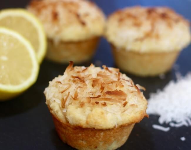 Easy Recipe for Lemon Coconut Muffins