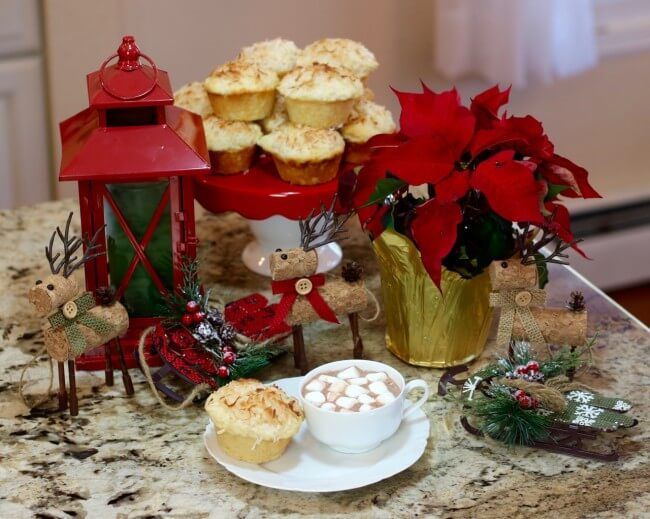 Tiny Reindeer love this Easy Recipe for Lemon Coconut Muffins