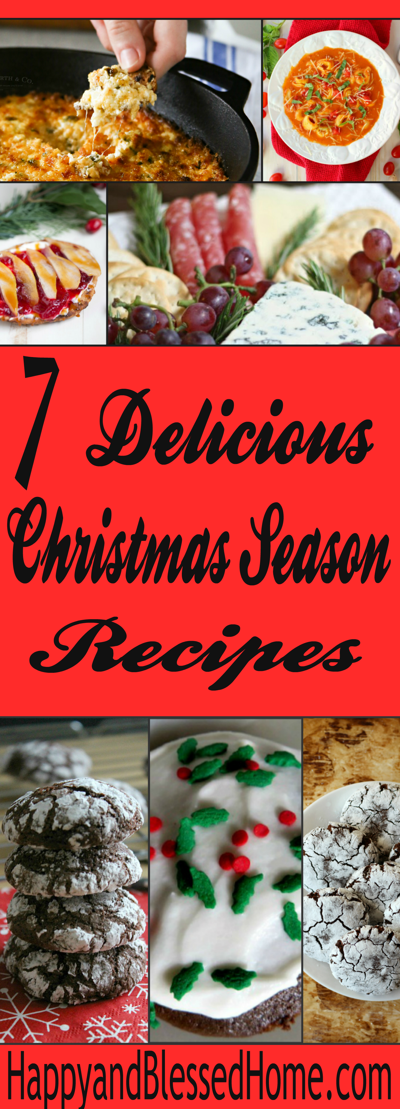 7 Delicious Christmas Recipes  Happy and Blessed Home