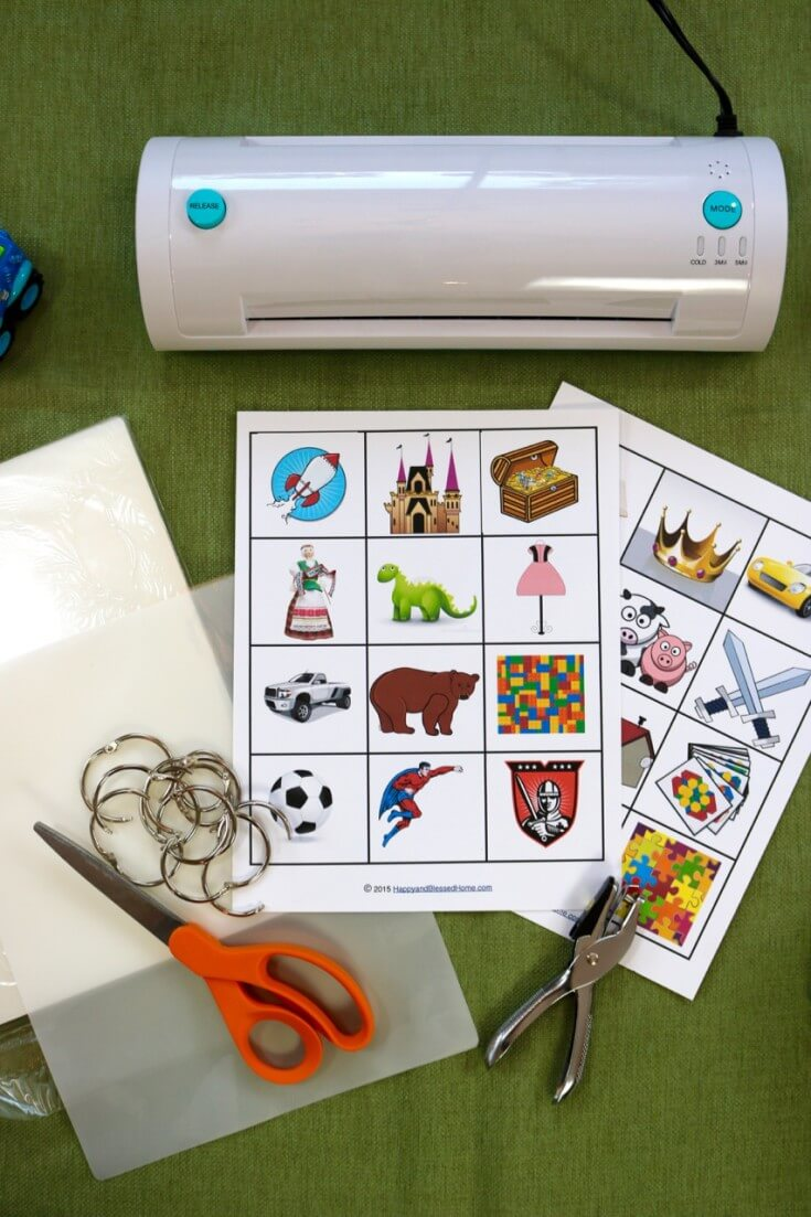 Materials Needed to help kids organize their rooms
