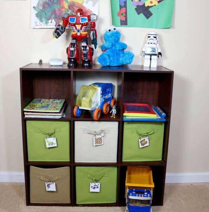 Teach Kids to Organize their rooms