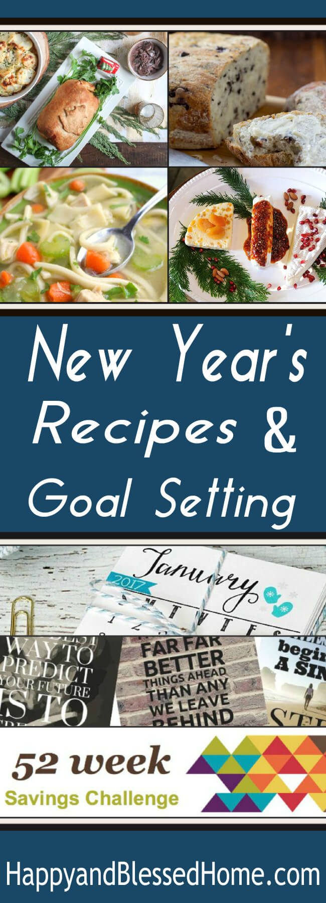 New Year's Recipes and New Year's Goals