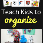 How to Teach Kids to Organize their Rooms with Free Printable Labels