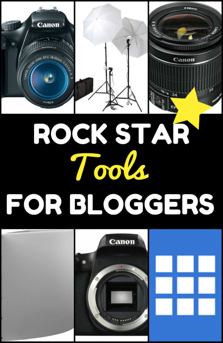 Resources and Rock Star Tools for Bloggers