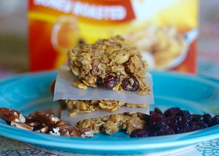 Best Breakfast Ever Healthy Fruit and Nut No Bake Granola Bars