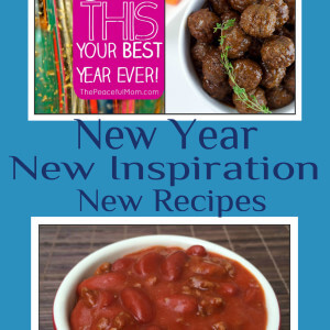 New Year, New Inspiration, New Recipes