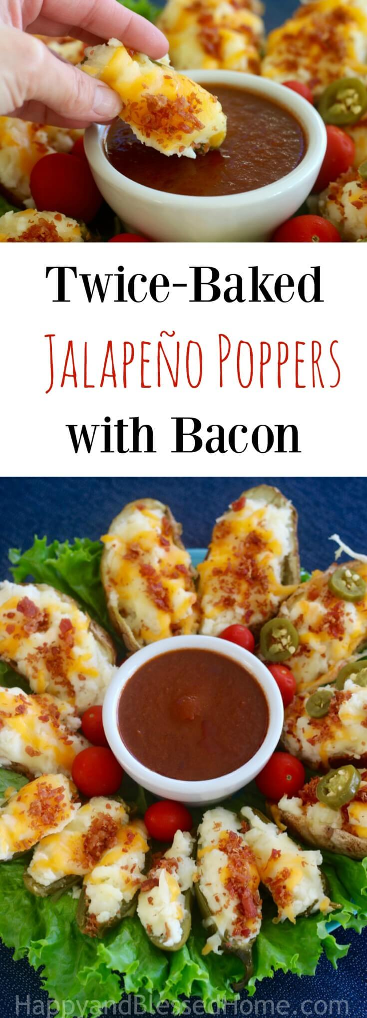 Easy Appetizer Recipe for Twice-Baked Jalapeño Poppers with Bacon