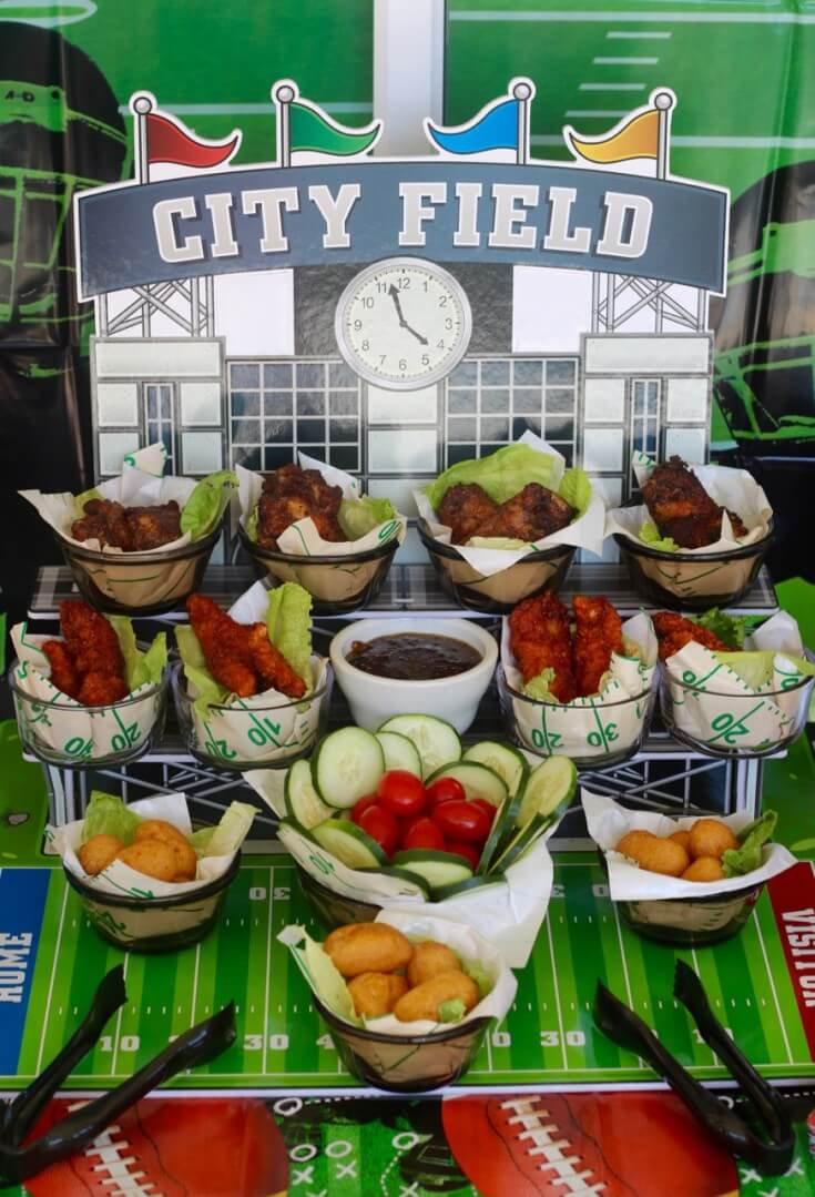 Serving Tangy Fig Jam Recipe with Tyson® foods is perfect for a Football Party
