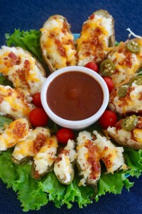 The Perfect party appetizer - Twice-Baked Jalapeño Poppers