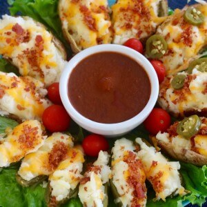 WIN a Flat Screen TV and Twice-Baked Jalapeño Poppers with Bacon