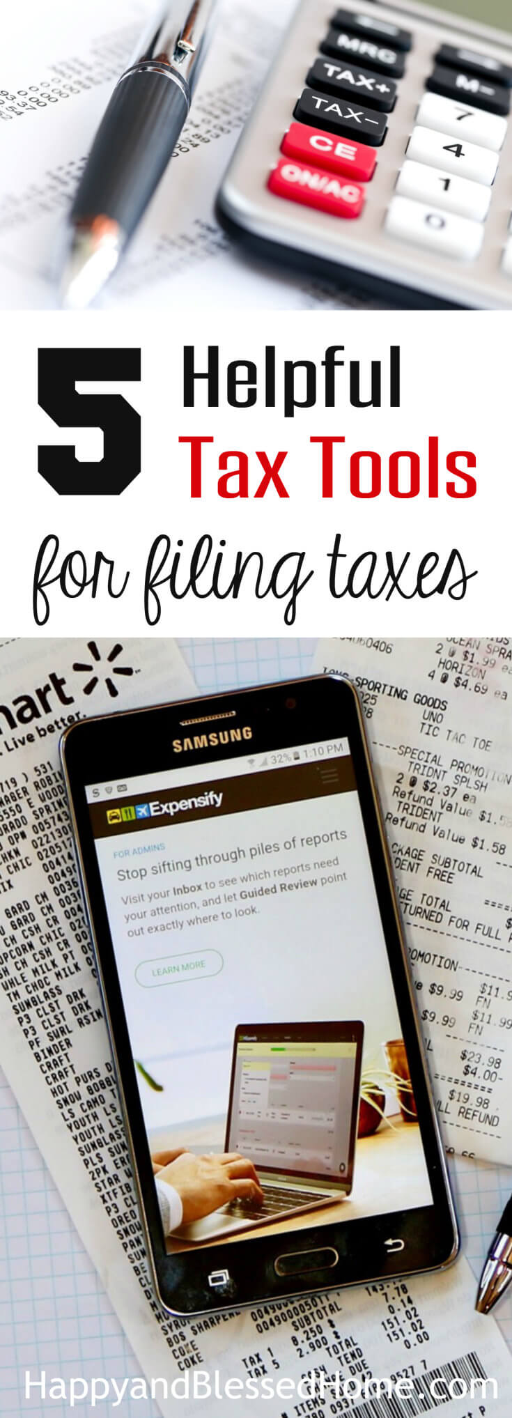 5 Helpful Tax Tools for Filing Taxes - Income Tax Return Resources