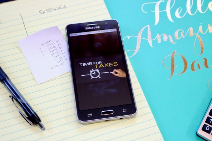 5 Helpful Tools for Filing Taxes including the SAMSUNG Galaxy On5