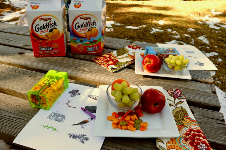 FREE Scavenger Hunt Printable for Kids and Goldfish® Cracker Snack Time and Family Fun
