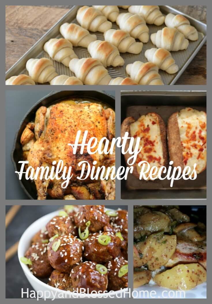 Hearty Family Recipes