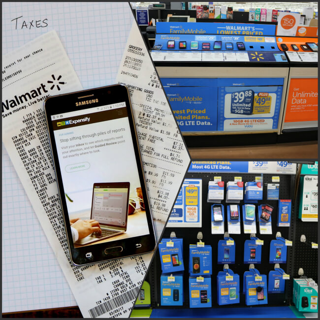 Walmart Family Mobile is great for Tax Time