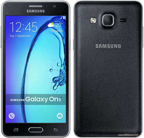 Front and Back SAMSUNG Galaxy On5 Mobile Phone