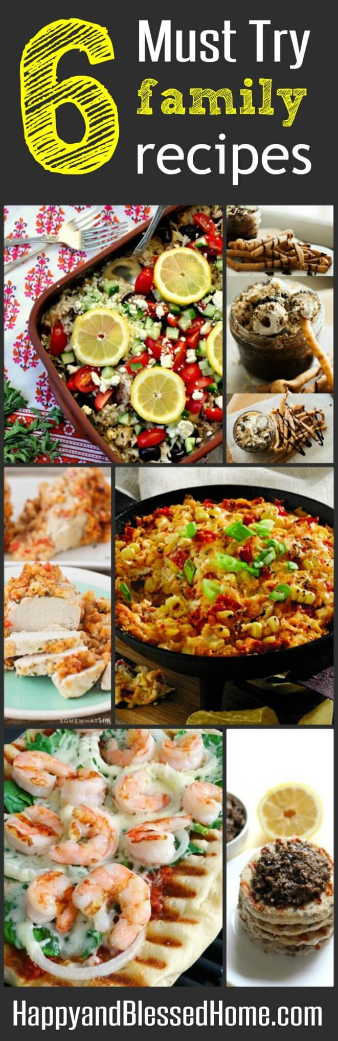 6 Must Try Family Recipes