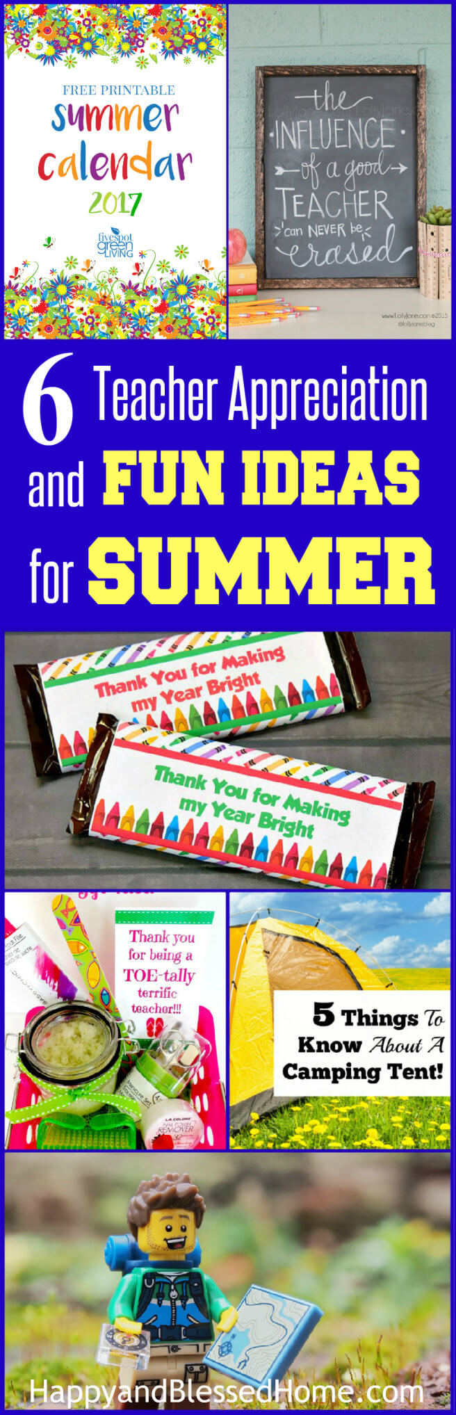 6 Teacher Appreciation and Fun Ideas for Summer