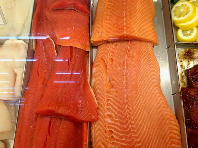 Pick up some Alaska salmon (fresh or frozen) at your local seafood counter
