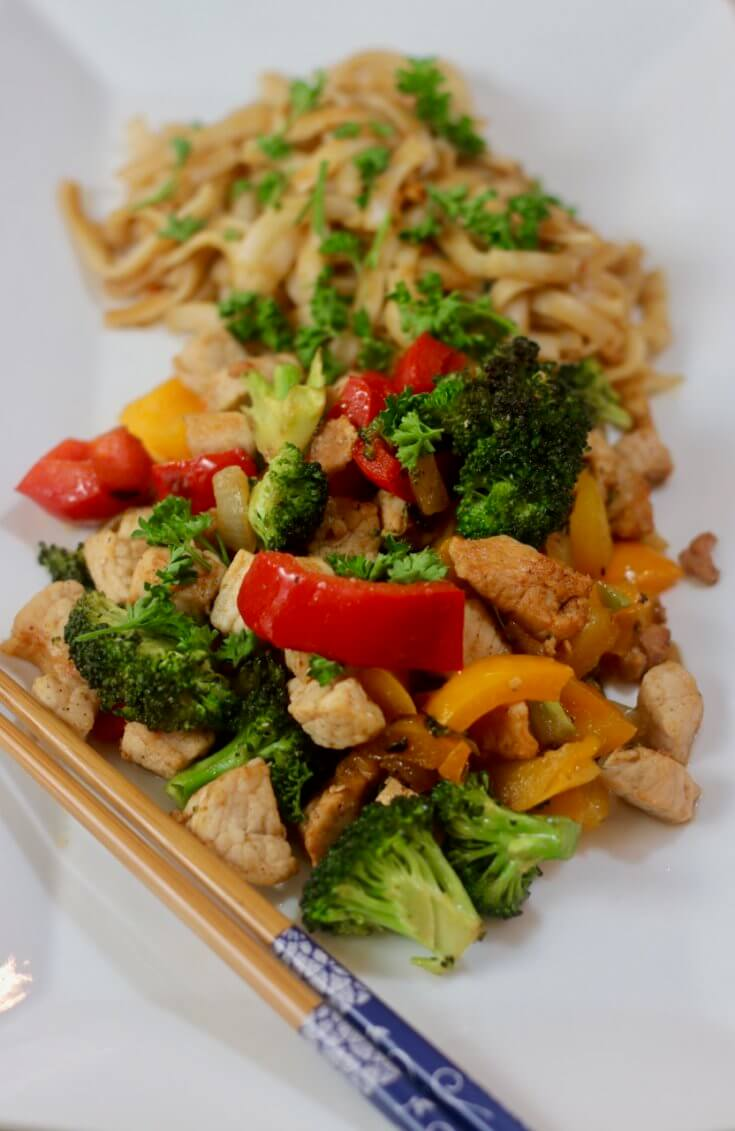 Packed with flavor - Applewood Smoked Bacon Pork Stir Fry Recipe