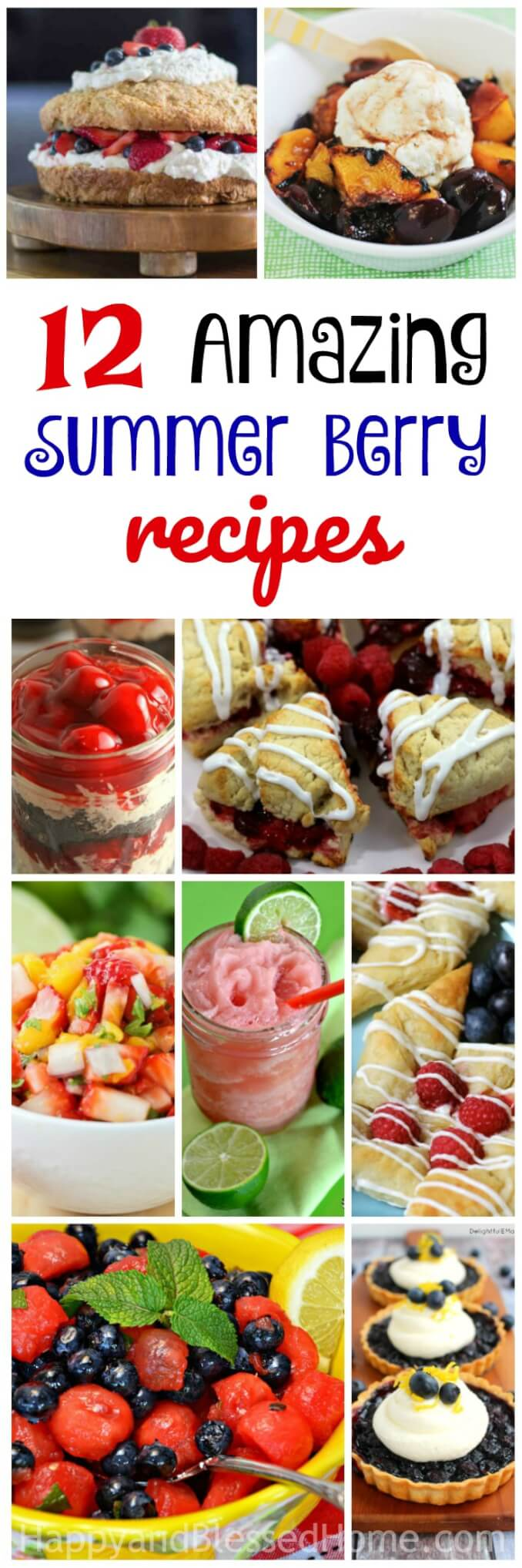 12 Amazing Summer Berry Recipes - things you can make with summer berries