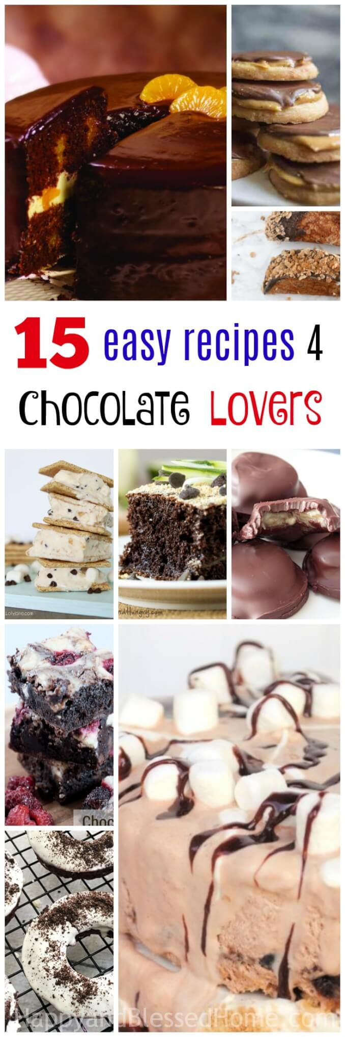15 Easy Chocolate Recipes for Passionate Lovers of Chocolate