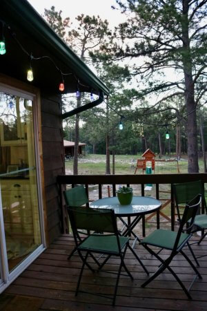 3 Outstanding Ways to set the Tone for your Outdoor Dining Space featuring Enbrighten Seasons Color Changing Café Lights