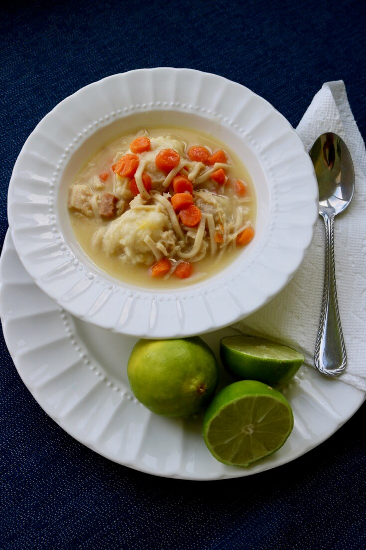 Family Favorite Make Ahead Dumpling Recipe and Chicken Noodle Soup
