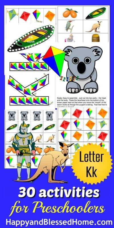 Learn-to-Read-Preschool-Alphabet-Letter-K-HappyandBlessedHome.com_1
