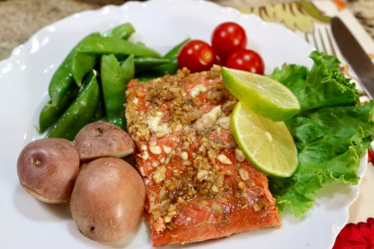 Load up on tasty seafood - Easy recipe for Honey and Soy wild Alaska Salmon