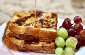 Love this with Maple Syrup - Make-Ahead Easy Recipe for French Toast Bake.