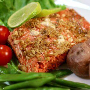 Easy recipe for Honey and Soy wild Alaska Salmon