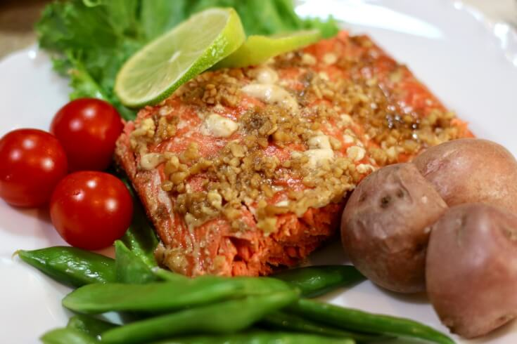 Mouthwatering Taste - Easy recipe for Honey and Soy wild Alaska Salmon