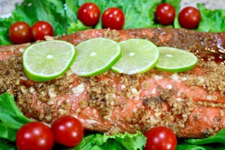 Packed with nutients and flavor - Easy recipe for Honey and Soy wild Alaska Salmon