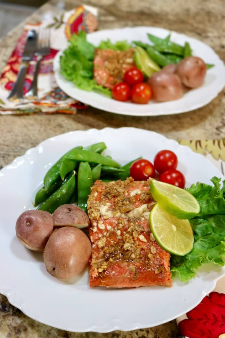 The perfect family meal - Easy recipe for Honey and Soy wild Alaska Salmon